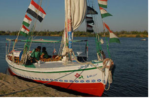 African sailboat