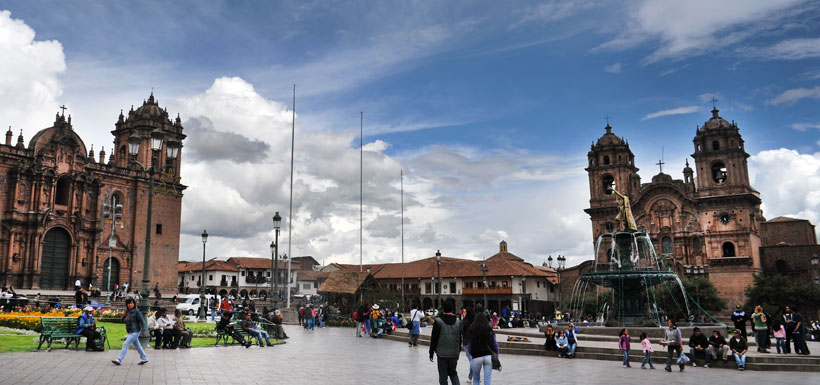 Central Plaza Cuzco Peru