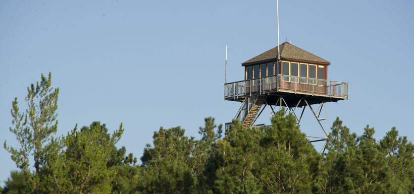 Scott Fire Watchtower